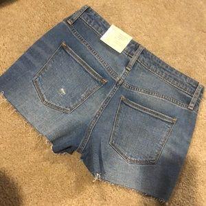 Universal thread jean shorts